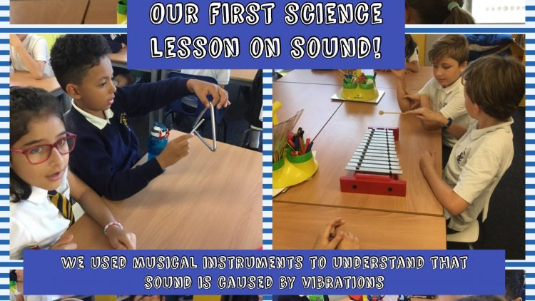 Year 4's First Science Lesson on Sound!