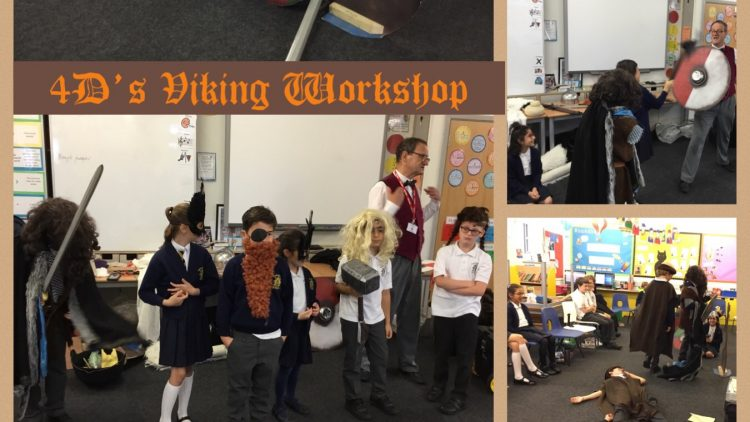Year 4 Viking Workshop!