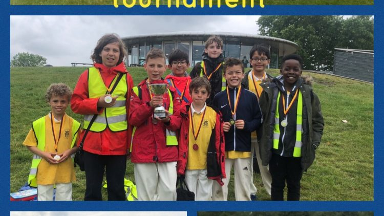 Runners up in Camden Schools Cricket