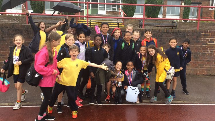 Y5/6 Athletics Small School Champions 2019