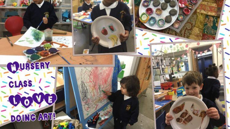 Art in Nursery