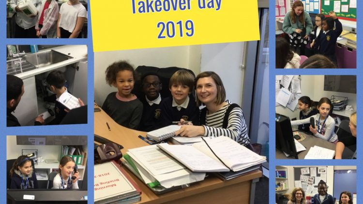 We celebrated World Children's Day with a whole school Takeover!