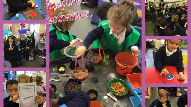 Room on a Broom inspired activities!