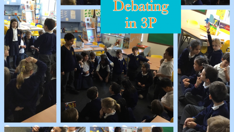 Debating in Year 3