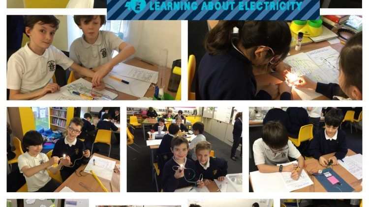 Year 4 learnt about Electricity