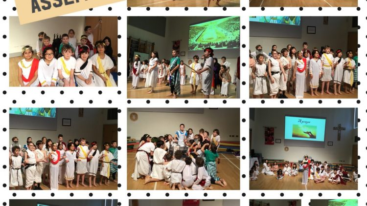Year 4's Ancient Greek Assembly