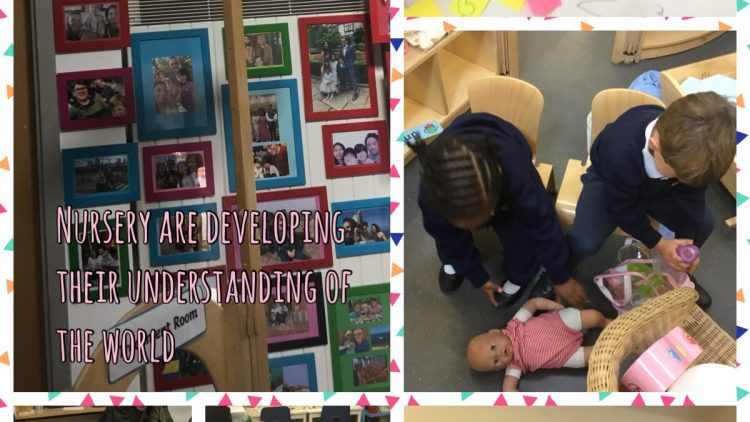 Learning about Ourselves in Nursery Class