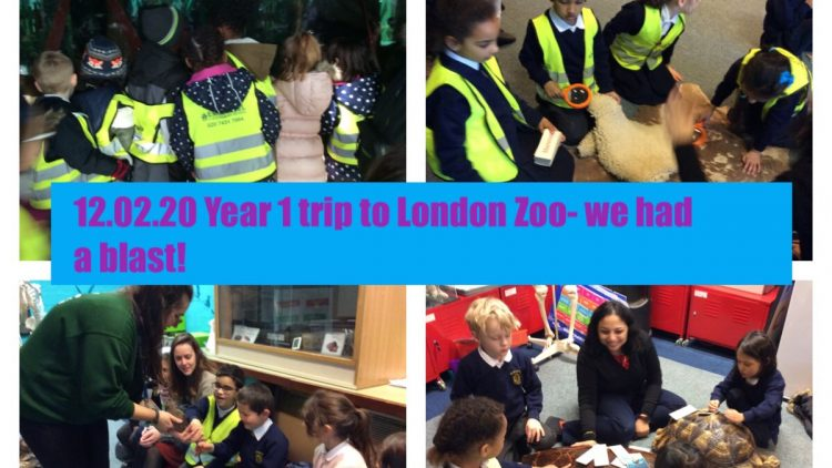 Year 1's trip to London Zoo