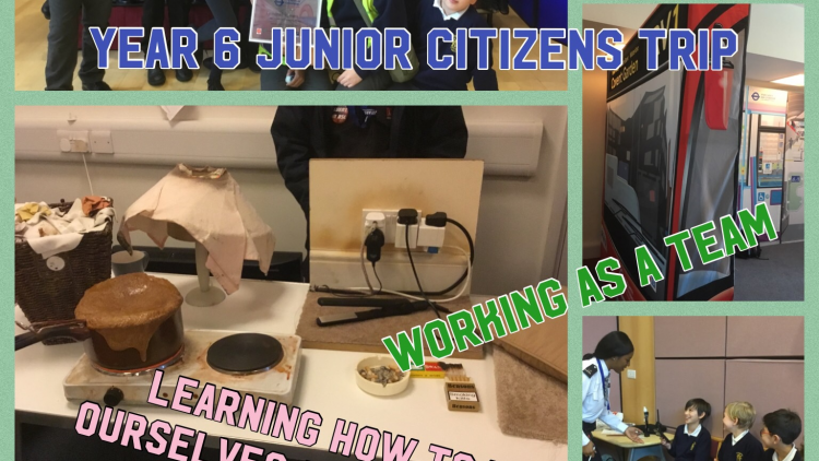 Year 6's Junior Citizens trip