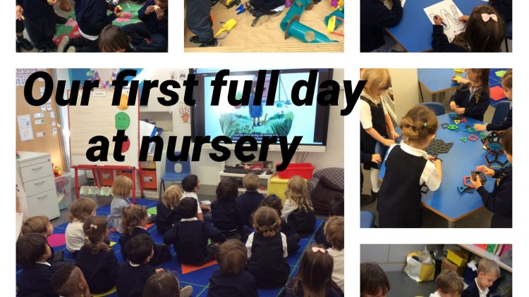 First full day at nursery.
